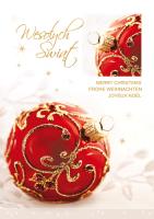 Kartki świąteczne wielojęzyczne  PGD-49