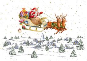 Tanie kartki świąteczne PGD 09