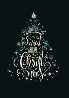 Kartka świąteczna wielojęzyczna GD-99