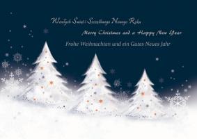 Kartka świąteczna w kilku językach GD-62