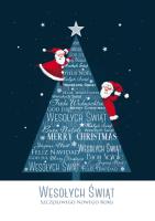 Kartka świąteczna zabawna GD-78