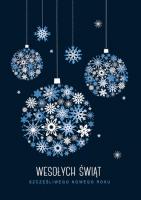 Biznesowa kartka świąteczna GD-96