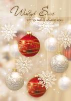 Kartka świąteczna z życzeniami GD-64