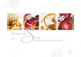 Kartka świąteczna z życzeniami PGD-51