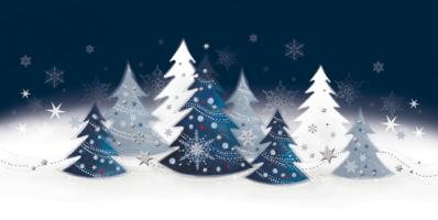 Świąteczny pejzaż zimowy LZ 86