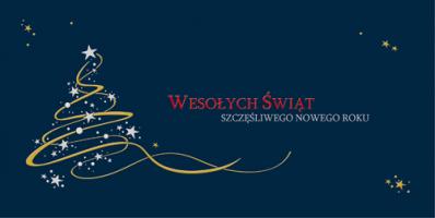 Biznesowa kartka świąteczna PLZ 58