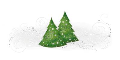 kartka świąteczna z choinką PLZ 71