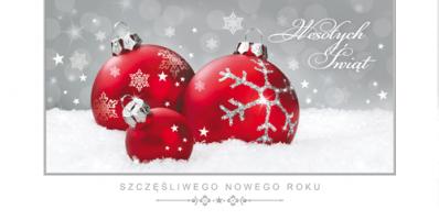Kartka świąteczna PLZ 77