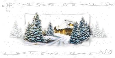 Kartka świąteczna  na Boże Narodzenie L 939