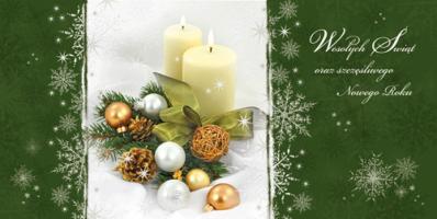 Kartka na Boże Narodzenie L 956