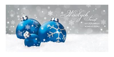 Kartka świąteczna firmowa PL 980