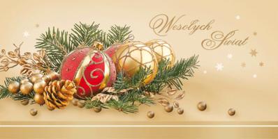 Kartka na Boże Narodzenie PL 983