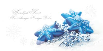 Firmowa kartka świąteczna PL 976