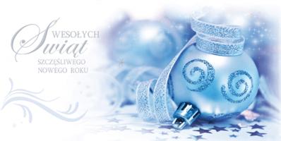 Biznesowa kartka świąteczna PL 957