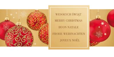 Karnet świąteczny dla firm PL 982