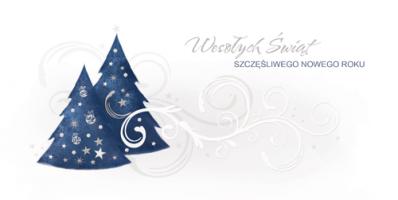 Karnet świąteczny dla firm PL 979