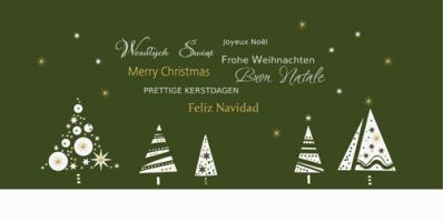 Karnet świąteczny firmowy PL 958