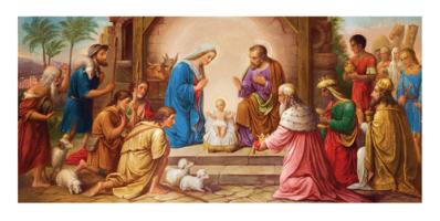 Kartka świąteczna religijna LR 809