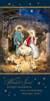 Kartka świąteczna religijna LR 801