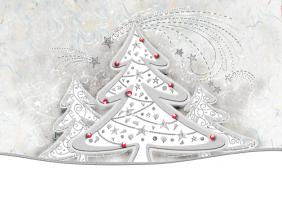 Delikatna kartka świąteczna K 114
