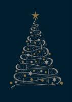 Biznesowe kartki świąteczne K 158