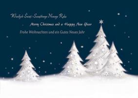 Firmowa kartka świąteczna K 153