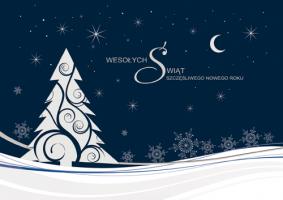 Biznesowa kartka świąteczna PK 152