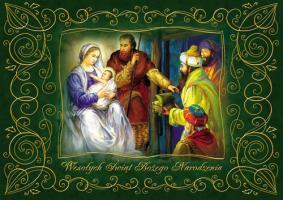 kartka ze Świętą Rodziną PKR 04