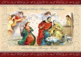 Kartka świąteczna religijna PKR 05