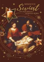 Kartka świąteczna na Boże Narodzenie NR 103