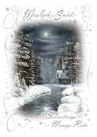 Firmowa kartka świąteczna B 569