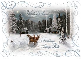 Firmowe Kartki świąteczne B 564