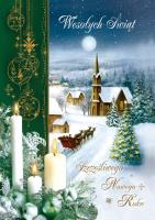 Kartka świąteczna B 573