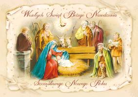 Kartka świąteczna Święta Rodzina BR 03