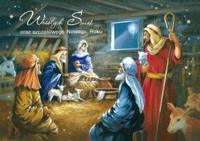 Kartka na święta Bożego Narodzenia BR 19