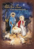 Kartka ze Świętą Rodziną BR 14