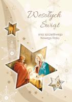 Kartka bożonarodzeniowa BR 24