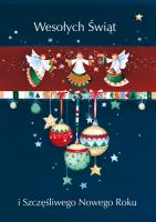 Kartka świąteczna z aniołami GD-42