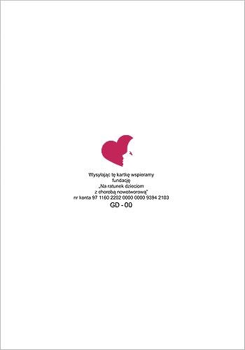 Firmowa kartka świąteczna dobroczynna GD-101
