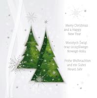 Kartka świąteczna w kilku językach S-48