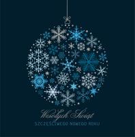 Elegancka kartka świąteczna S-39
