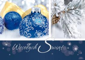 Kartki świąteczne z życzeniami GD-53