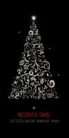Biznesowy karnet świąteczny L 989