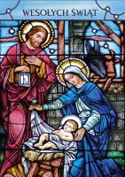Kartka świąteczna religijna GD 104
