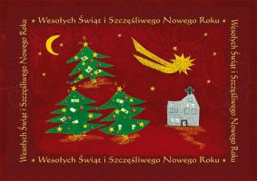 Kartka świąteczna fundacyjna G 29