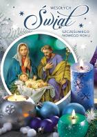 Kartki świąteczne religijne BR 25