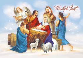 Kartka na Boże Narodzenie BR 27